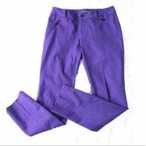 Lauren Ralph Lauren Purple Straight leg Pants NWOT